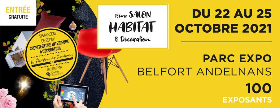 salon de l'habitat Belfort Andelnans octobre 2021